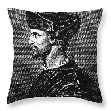 Francois Rabelais Throw Pillow by Granger