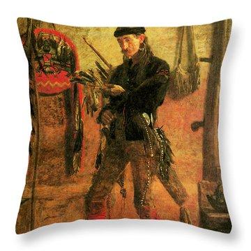 Frank Hamilton Cushing Throw Pillow