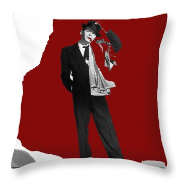 Frank Sinatra Pal Joey Publicity Photo 1957-2014 Throw Pillow by David Lee Guss