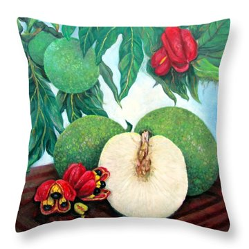 From Tree To Table Throw Pillow