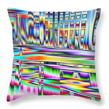 Throw Pillow featuring the photograph Full Dance Card by Nick David