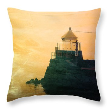 Fyllinga Lighthouse Throw Pillow