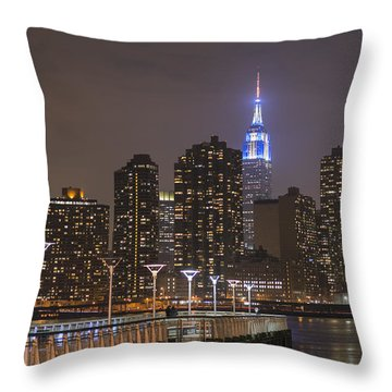 Gantry Nights Throw Pillow