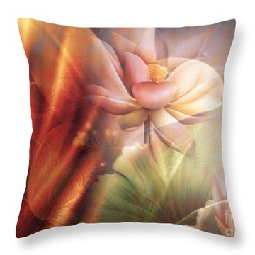 Garden II Throw Pillow