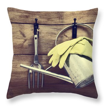 Allotment Throw Pillows