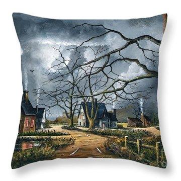 Gathering Storm Throw Pillow