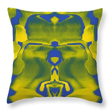 Generations 5 Throw Pillow by J D Owen