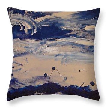 Genesis I Throw Pillow