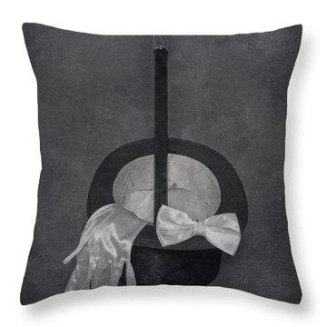 Gentleman Throw Pillow by Joana Kruse