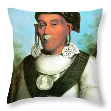 George Lowrey Throw Pillow