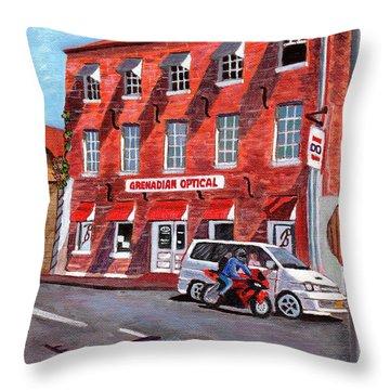 Georgian Style Throw Pillow