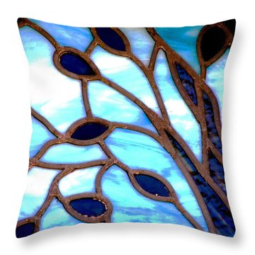Gettysburg College Chapel Window Throw Pillow
