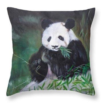 Giant Panda 1 Throw Pillow