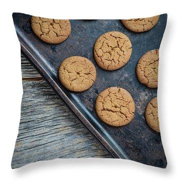 Ginger Snaps Throw Pillows