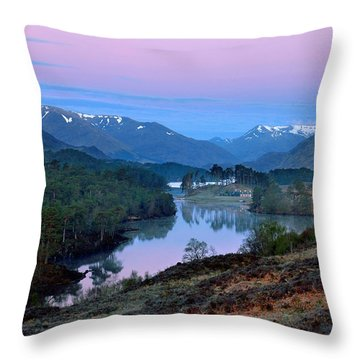 Glen Affric Throw Pillow