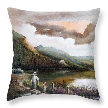 Glendalough Throw Pillow