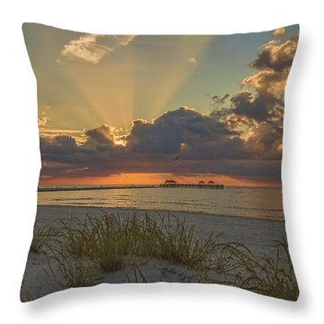 Glorious Throw Pillow by Brian Wright