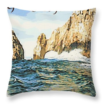 God Loves You Throw Pillow