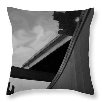 Throw Pillow featuring the photograph Going Under by Jamie Lynn