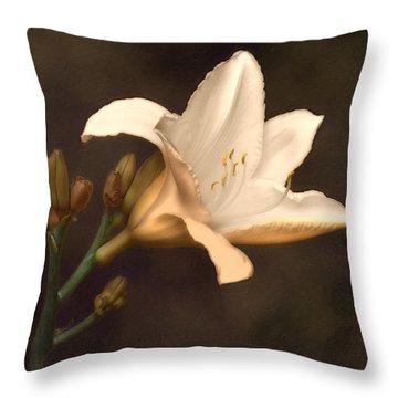 Daylily Throw Pillows