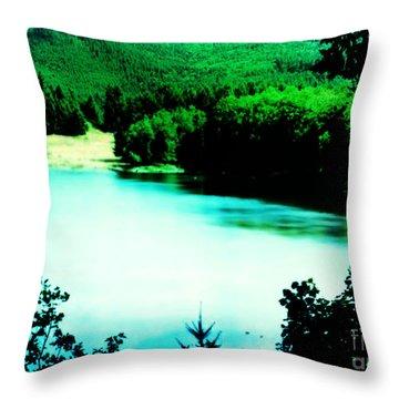 Gorge Waterway Victoria British Columbia Throw Pillow