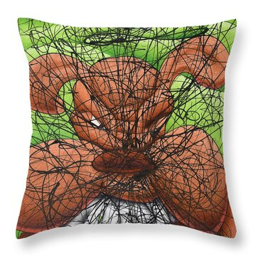 Gotcha Throw Pillow