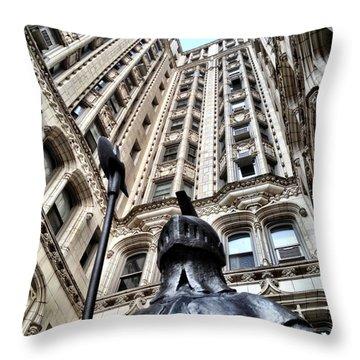 Gothic Gramercy Throw Pillow