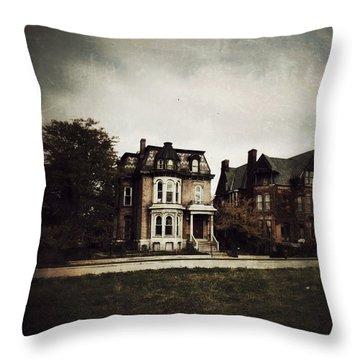 Gothic Victorians Throw Pillow