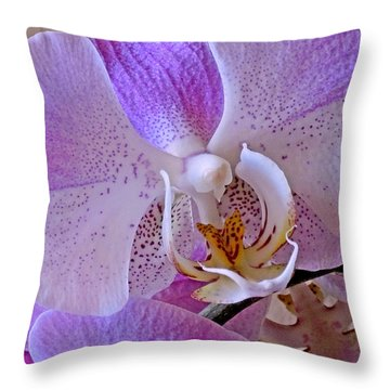 Grace And Elegance Throw Pillow