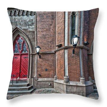 Grace Throw Pillow by Richard Bean