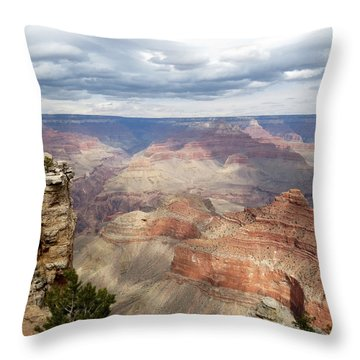 Grand Canyon National Park Throw Pillow by Laurel Powell