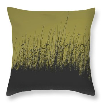Throw Pillow featuring the photograph Grass by Irina Hays