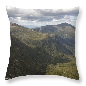 Great Gulf Wilderness - White Mountains New Hampshire Throw Pillow