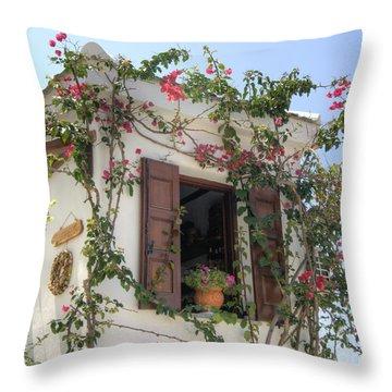 Greek Charm Throw Pillow