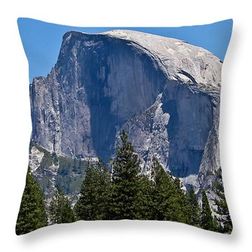 Throw Pillow featuring the photograph Half Dome by Brian Williamson