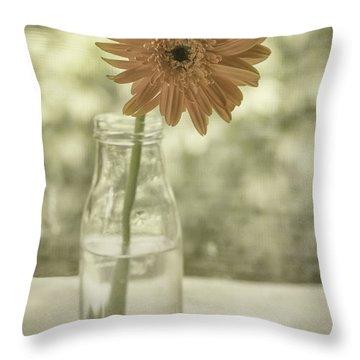 Happiness Throw Pillow by Kim Hojnacki