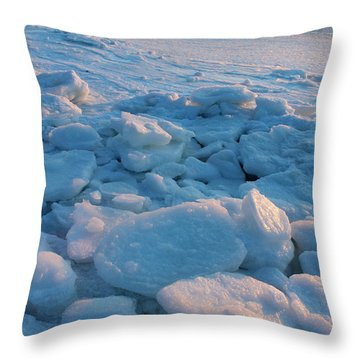 Harbor Port Jefferson New York Throw Pillow by Bob Savage