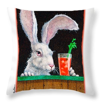 Bloody Mary Throw Pillows