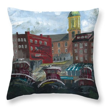 Harpoon Willy's Throw Pillow