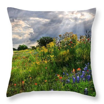 Heaven's Light  Throw Pillow
