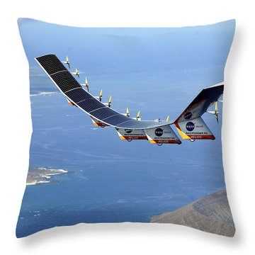 Helios Prototype, Solar-electric Throw Pillow