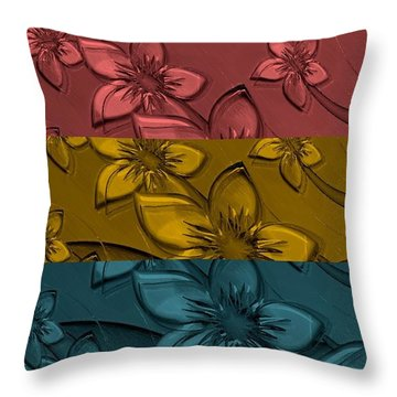 Throw Pillow featuring the digital art Here Comes Your Man by Holley Jacobs