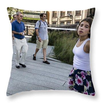 Highline Attitude Throw Pillow