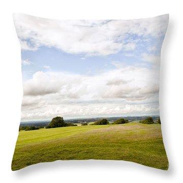Hill Of Tara Throw Pillow