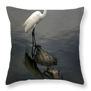 Hitch Hiker Throw Pillow