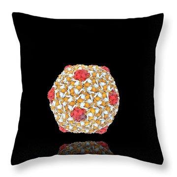 Bacteriophage Throw Pillows
