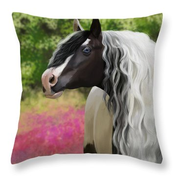 Hold On To Me Throw Pillow