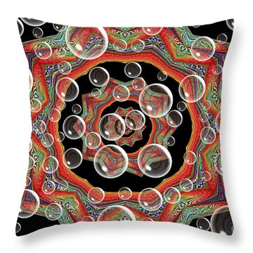 Holiday Card Throw Pillow