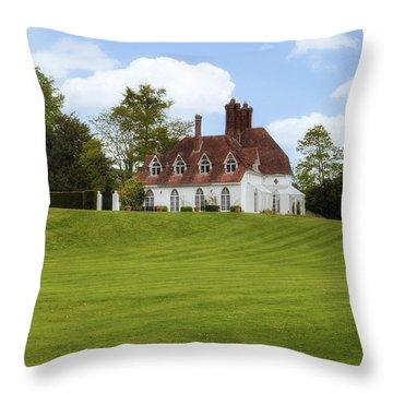 Houghton Lodge Throw Pillow