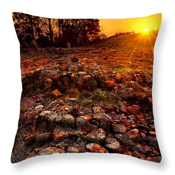 Hughes Mountain Throw Pillow